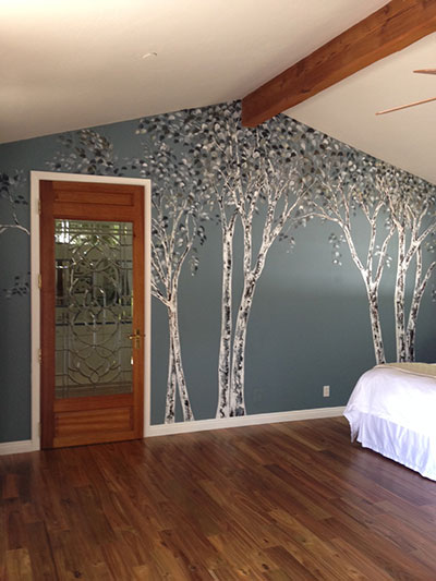 The artists at barbara hafner designs - Lecteur blue ray mural ...